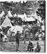 Civil War Hospital, 1860s Acrylic Print
