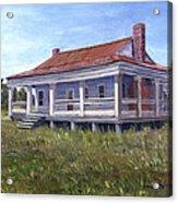 Civil War House Mansfield Louisiana Acrylic Print by Lenora  De Lude