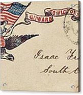 Civil War Letter 18 Acrylic Print