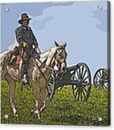 Civil War Officer Acrylic Print