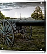 Civil War Rifles Acrylic Print