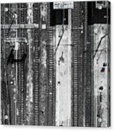 Civitavecchia Train Station Acrylic Print