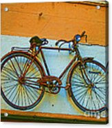 Clamped Acrylic Print