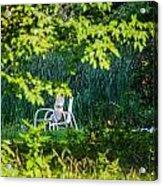 Clandestine Chair Acrylic Print by Jason Brow