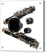 Clarinet Acrylic Print