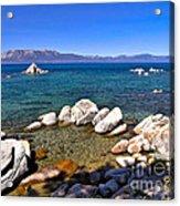 Clarity - Lake Tahoe Acrylic Print