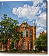 Clark Hall - University Of Alabama Acrylic Print