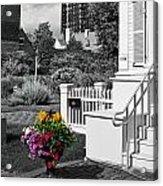 Clark House Flowers 2 Acrylic Print