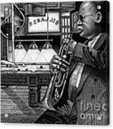 Jazz Clark Terry Acrylic Print