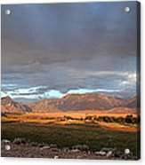 Clarks Fork Rainbow Acrylic Print by Roger Snyder
