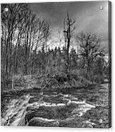Clarksburg Falls 1833 Acrylic Print