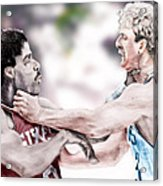 Clash Of The Titans 1984 - Bird And Doctor  J Acrylic Print
