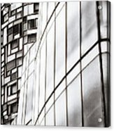 Class And Glass Acrylic Print by Russell Styles
