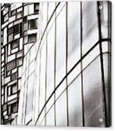 Class And Glass Acrylic Print