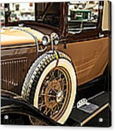 Classic 1928 Ford Model A Sport Coupe Convertible Automobile Car Acrylic Print