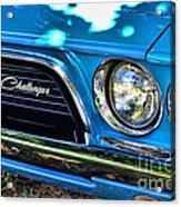 Classic 1974 Dodge Challenger Acrylic Print