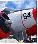 Classic Aircraft Acrylic Print