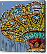 Classic Amusement Swing Acrylic Print