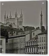 Classic Architecture in Lyon France Acrylic Print