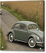 Classic Beetle  2 Acrylic Print