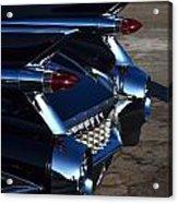 Classic Black Cadillac Acrylic Print