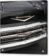 Classic Black Chevy Acrylic Print
