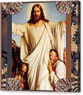 Classic Bloch Jesus Acrylic Print