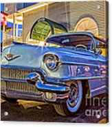 Classic Blue Caddy At Night Acrylic Print