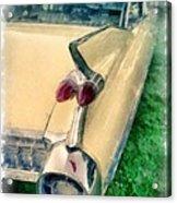 Classic Caddy Fins Acrylic Print