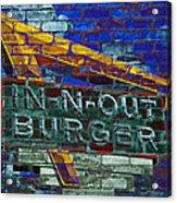Classic Cali Burger 2.2 Acrylic Print