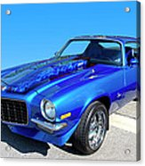 Classic Car 1973 Camaro 1 Acrylic Print