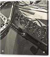 Classic Car Interior Acrylic Print
