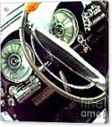 Classic Car Odometer Acrylic Print