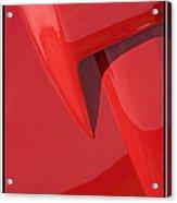 Classic Car Red - 09.20.08_159 Acrylic Print