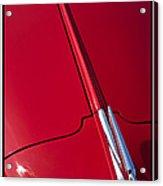 Classic Car Red - 09.20.08_456 Acrylic Print