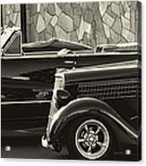 Classic Car Show Acrylic Print