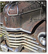 Classic Car With Rust Acrylic Print