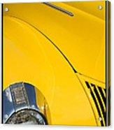 Classic Car Yellow - 09.20.08_471 Acrylic Print