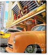 Classic Car's Of Las Vegas Acrylic Print
