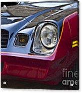 Classic Chevrolet Camaro Acrylic Print