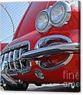 Classic Chevrolet Corvette Automobile Acrylic Print