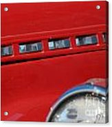 Classic Chevy Design Acrylic Print