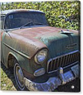 Classic Chevy With Rust Acrylic Print