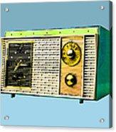 Classic Clock Radio Acrylic Print