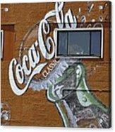 Classic Coca-cola Acrylic Print