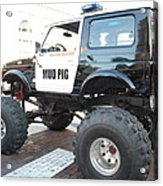 Classic Custom Jeep Acrylic Print