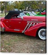 Auburn 1936 Roadster Classic Elegance Acrylic Print