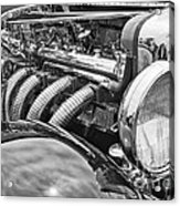 Classic Engine - Classic Cars At The Concours D Elegance. Acrylic Print
