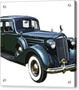Classic Green Packard Luxury Automobile Acrylic Print