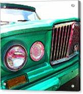 Classic Jeep J3000 4 Wheel Drive By Sharon Cummings Acrylic Print